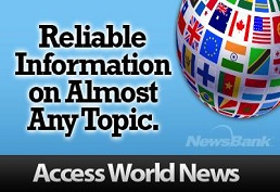 Access World News landing page