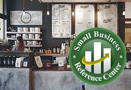 Small Business Reference Center landing page