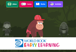 WorldBook Online: Early World of Learning landing page